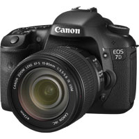 CANON EOS 7D set s objekt�vom EF-S 15-85IS USM