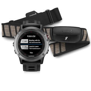 Garmin hodinky fénix® 3, Gray Performer Bundle