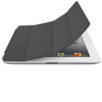 Apple iPad Mini Smart Case - Polyurethane - Dark Gray
