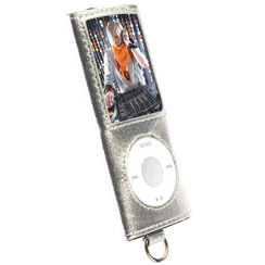 Krusell Apple iPOD Nano 4th. gen silver