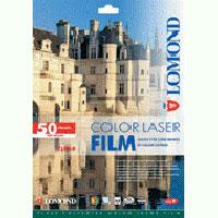 Fólia Lomond pre laserovú čiernobielu a farebnú tlač, priehľadná, A4/50 hárkov,