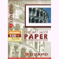 Lomond Fine Art Laser Paper 150 g/m2 A4/100 Perchament Yellow