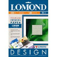 Fotopapier Lomond Fine Art Design Premium Linen Matte, 230 g/m2, A4/10