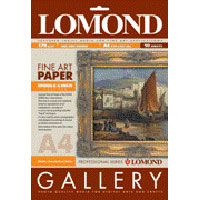 Fotopapier Lomond Fine Art Gallery Linen, pre atram.tlač, 170 g/m2, A4/10
