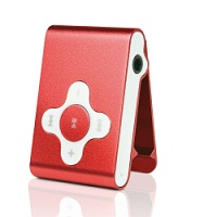 Yarvik Run MP3 player 4GB PMP032 red